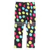 (G4809) Nova children clothes new arrival design cotton kids girl summer polka dot pants baby girl long trouser