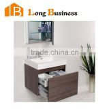 LB-JL2181 Made In China Modern Furniture Mirrored MDF Cabinet Melamine Bathroom Vanity                                                                         Quality Choice
