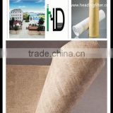Heading Nomex Aramid dust collector filter bag nonwoven needle felt