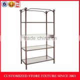 Modern custom design powder coating metal stand