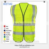 Yellow Safety Vest With Pockets