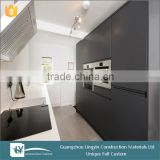 2015 UV satin color combination Lacquer Kitchen Cabinet,Kitchen set Furniture,Kitchen Cabinetry For African Cabinets Project
