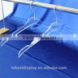 China TOBEST DISPLAY Factory customized acrylic plexiglass coat hanger,modern clothes hangers