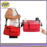 Red Folding Shoulder Car Back Baby Stroller Travel Bag for Feeding Bottles RYB060