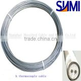 Industrial J type 0.5mm diameter simplex 2-core MI thermocouple cable