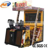Play coin operated arcade game /laser shooting simulator arcade game machine with lowest price