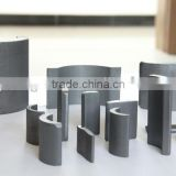 Y30 isotropic barium strontium arc segment ferrite magnets for motors