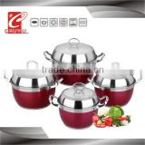 stainless steel induction german style cookware sets