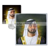 Arab King portrait oil painting from photo in museum quality