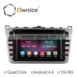Ownice New Quad Core Android 4.4.2 For mazda 6 dvd player gps Cortex A9 HD 1024*600