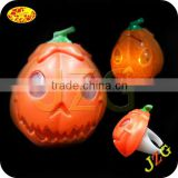 plastic LED glowing flashing pumpkin lights for Halloween