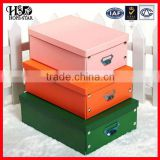 Wholesale High Quality Fancy custom baby shoe box Leather shoe box Flip the paper shoebox