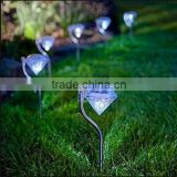 Diamond design solar garden light / Garden Stake Lamp / garden stake lights