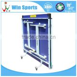 play pingpong indoor table tenis table with wheel