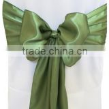 High quanlity wedding chair sashes, satin chair sashes for special events, wedding chair covers