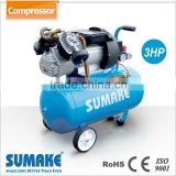 Reliable 3HP 50L Cylinder Direct Driven Oil Lubricate CE Approved Air Compressor
