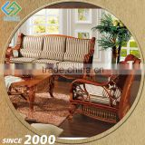 Factory Lowest Price Wicker Furniture U Shaped Sofa Set Models