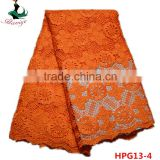 Haniye 2016/HPG13 African Lace Dress/Water Soluble Guipure Lace Fabric for wedding/party dresses /Lace Fabric Market In Dubai