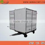 No power heavy loading semi trailer dolly