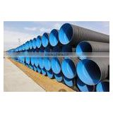 Plastic DWC (double wall corrugated ) drainage pipe