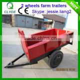 Agricultural hydraulic dump trailer with CE