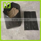 Yiwu LDPE material,heavy duty customized black plastic agriculture plant nursery bag