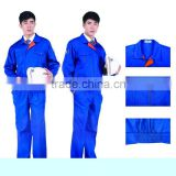 100% cotton blue working coverall