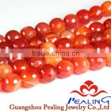 Faceted Gemstone Beads Fire Agate Beads beads in bulk