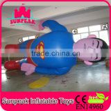 Giant Inflatable Advertising Superman Model,Inflatable Helium Balloon, PVC Balloon Inflatable