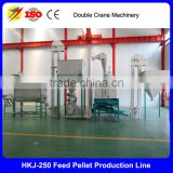 ISO Certification and New Condition chicken feed pellet production line, small pellet mill plant