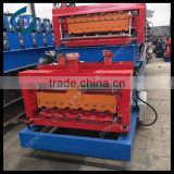 Glazed steel tile roll forming machine