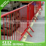 New design galvanized mojo barrier mobile security barrier fence