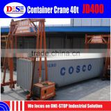China Low Container Crane Cost 40 ton JD400 Container Crane for Sale