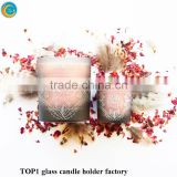 Candlestick Tealight Wedding Home Valentine Xmas Decor Gift 4 Lattice Gold Votive Holders