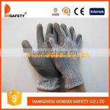 DDSAFETY 2017 13G HPPE PU Coated Safety Gloves Cut And Chemical Resistant Safety Work Gloves