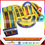 0.55mm PVC tarpaulin Bounce House - Inflatable amusement park Theme Bouncing Jump & Slide