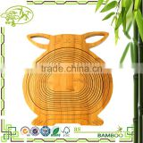 Newest design top quality bamboo fruit basket drawing