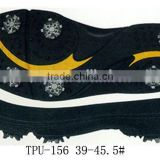 Mens EVA golf shoes soles custom high quality golf shoes sole
