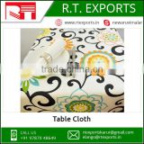 Cotton Table Cloth For Restaurants Hotel And Banquets