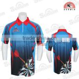 Dye Sublimaiton Flying team high quality custom mens bike jersey/cycling garment
