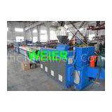 Door / Window PVC Profile Production Line With Double Screw Extruder