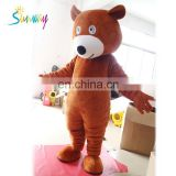 Bear fur costume/hot sale factory price for popular plush dress