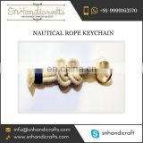 Nice Brand Nautical Rope Keychain from Reliable Exporter