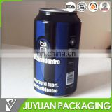 Beer can shaped tin can for t-shirt with custom printing from China tin box supplier