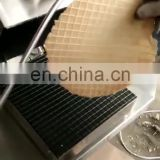 Egg roll roller machine for making ice cream cone