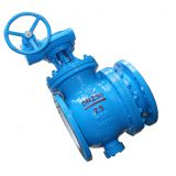 Full Bore Top Entry Eccentric Ball Valve For District Heating Water
