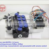 60 LPM electric and pneumatic directional control valve , electric and air control valves , air and electric control