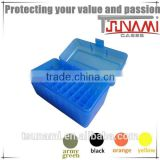 high quality bullet mold ammunition case plastic ammunition can for airsoft ammo(TB-908)