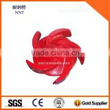 OEM Cast Iron Pump Casing Iron Pump Impeller
