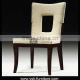 DC-054 French Style Chair With Buttons Fabric Dining Room Furniture Antique Dining Chair